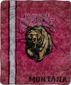 Northwest NCAA Montana Jersey Sherpa Throw