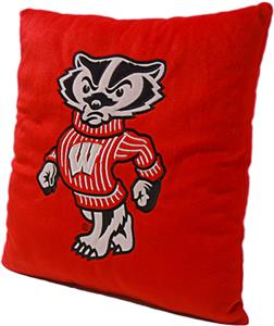 Northwest NCAA Wisconsin Plush Pillow