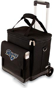 Picnic Time NFL St. Louis Rams Cellar with Trolley