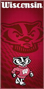 Northwest NCAA Univ. of Wisconsin Beach Towel