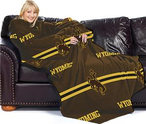 Northwest NCAA Wyoming Comfy Throw (Stripes)