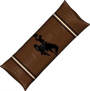 Northwest NCAA Univ. of Wyoming Body Pillow