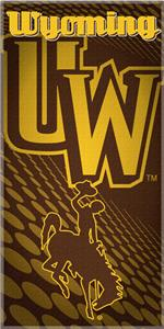 Northwest NCAA Univ. of Wyoming Beach Towel