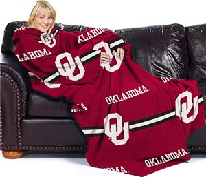 Northwest NCAA OU Comfy Throw (Stripes)