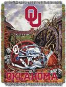 "Northwest NCAA OU 48""x60"" HFA Tapestry Throw"