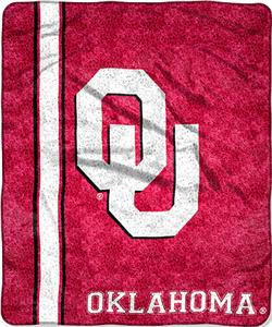 "Northwest NCAA OU Jersey 50""x60"" Sherpa Throw"