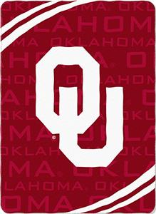 Northwest NCAA OU 62&quot;x90&quot; Fleece Force Throw