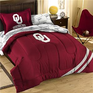 Northwest NCAA OU Twin Bed in Bag Set