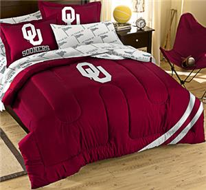 Northwest NCAA OU Full Bed in Bag Set