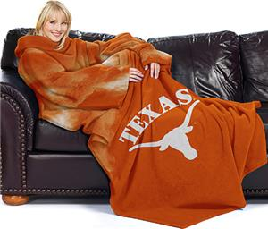 Northwest NCAA Univ. of Texas Comfy Throw (Smoke)