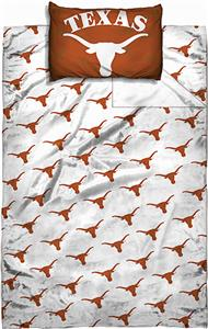 Northwest NCAA Univ. of Texas Twin Sheet Set