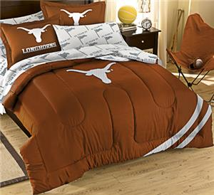 Northwest NCAA Univ. of Texas Full Bed in Bag Set