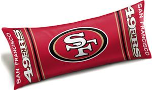 "Northwest NFL San Francisco 49ers 54"" Body Pillows"
