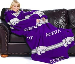 Northwest NCAA K-State Comfy Throw -Stripes