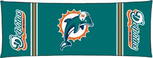 Northwest NFL Miami Dolphins Body Pillow