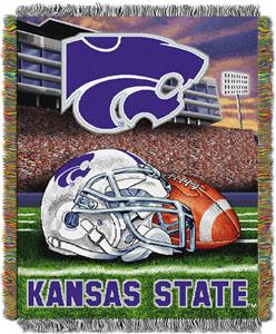 Northwest NCAA K-State HFA Tapestry Throw