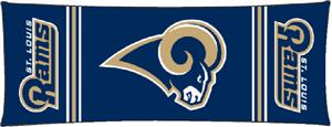 Northwest NFL St. Louis Rams Body Pillow