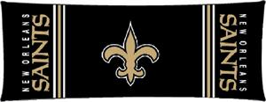 "Northwest NFL New Orleans Saints 54"" Body Pillows"