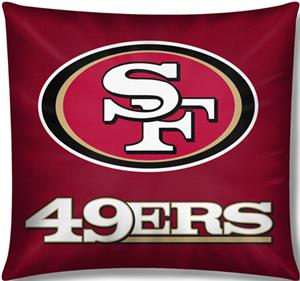 "Northwest NFL San Francisco 49ers 18""x18"" Pillows"