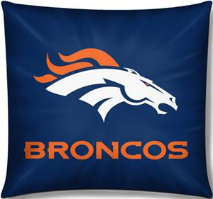 "Northwest NFL Denver Broncos 18""x18"" Pillows"