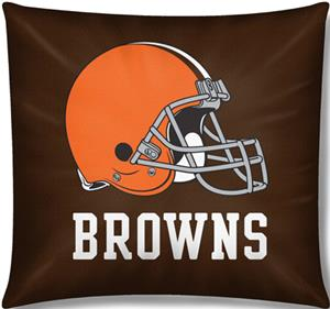 "Northwest NFL Cleveland Browns 18""x18"" Pillows"