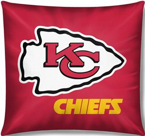 "Northwest NFL Kansas City Chiefs 18""x18"" Pillows"