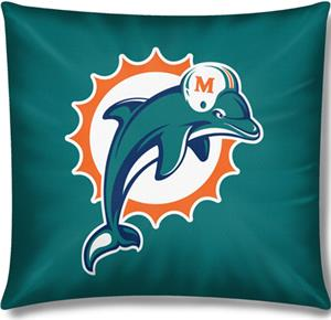 "Northwest NFL Miami Dolphins 18""x18"" Pillows"