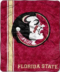 Northwest NCAA Florida State Jersey Sherpa Throw