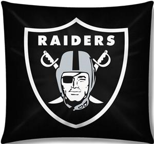 "Northwest NFL Oakland Raiders 18""x18"" Pillows"
