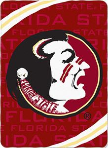 Northwest NCAA Florida State Fleece Force Throw