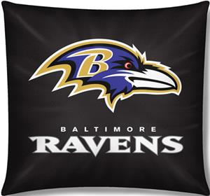 "Northwest NFL Baltimore Ravens 18""x18"" Pillows"