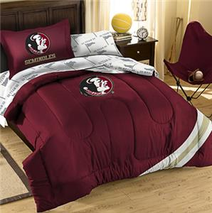 Northwest NCAA Florida State Twin Bed in Bag Set