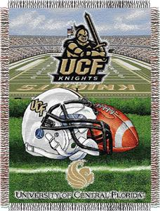 Northwest NCAA Central Florida HFA Tapestry Throw