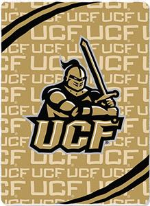 Northwest NCAA Central Florida Fleece Force Throw