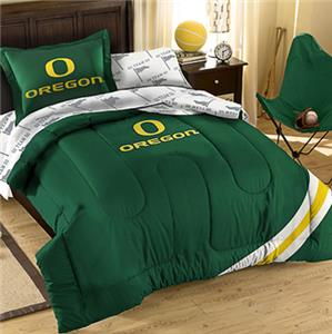 Northwest NCAA Oregon Twin Bed in Bag Set