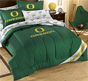 Northwest NCAA Oregon Full Bed in Bag Set