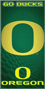 Northwest NCAA Univ. of Oregon Beach Towel