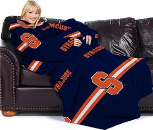 Northwest NCAA Syracuse Comfy Throw (Stripes)