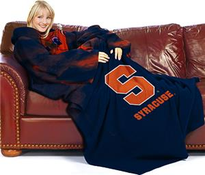 Northwest NCAA Syracuse Univ. Comfy Throw (Smoke)