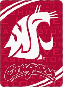 Northwest NCAA Washington State Fleece Force Throw