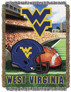 Northwest NCAA West Virginia HFA Tapestry Throw
