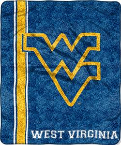 Northwest NCAA West Virginia Jersey Sherpa Throw