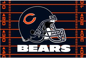 Northwest NFL Chicago Bears 39&quot;x59&quot; Rugs