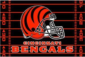 "Northwest NFL Cincinnati Bengals 39""x59"" Rugs"