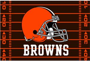 "Northwest NFL Cleveland Browns 39""x59"" Rugs"