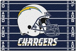 "Northwest NFL San Diego Chargers 39""x59"" Rugs"