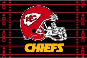 "Northwest NFL Kansas City Chiefs 39""x59"" Rugs"