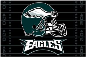 "Northwest NFL Philadelphia Eagles 39""x59"" Rugs"