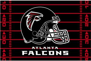 "Northwest NFL Atlanta Falcons 39""x59"" Rugs"
