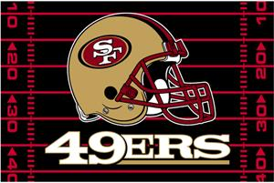 "Northwest NFL San Francisco 49ers 39""x59"" Rugs"